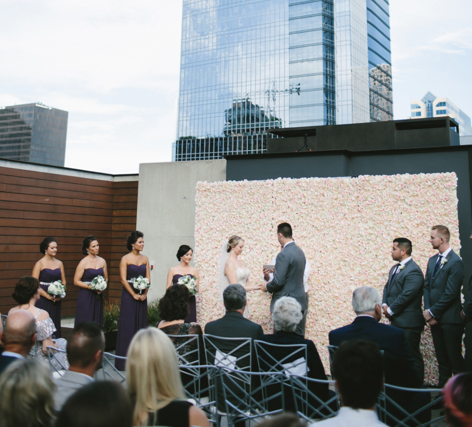 Austin Flower Walls Rental